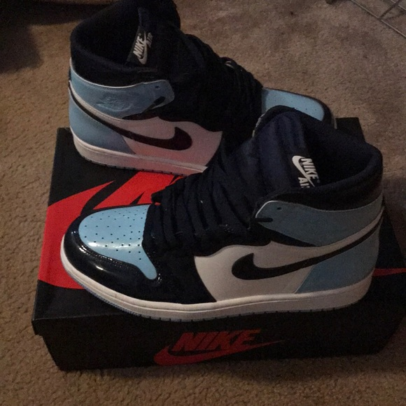 Jordan Shoes Womens Air 1 High Og Blue Chill Poshmark